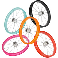 aluminium wheel, stainless spoke, any color