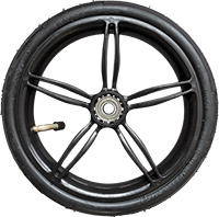 "10"" plastic wheel Irys"