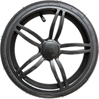 "12"" plastic wheel Irys"