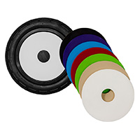 "U12, 12"" plastic wheel, colored lid"