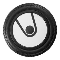 "U12, 12"" plastic wheel, printed lid"