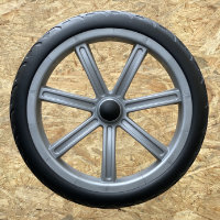 "12"" plastic wheel, EVA tire"